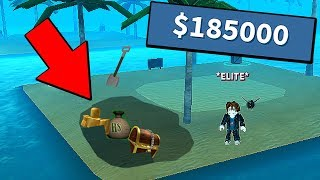 PRIVATE ISLAND BOUGHT! (ROBLOX TREASURE HUNT)