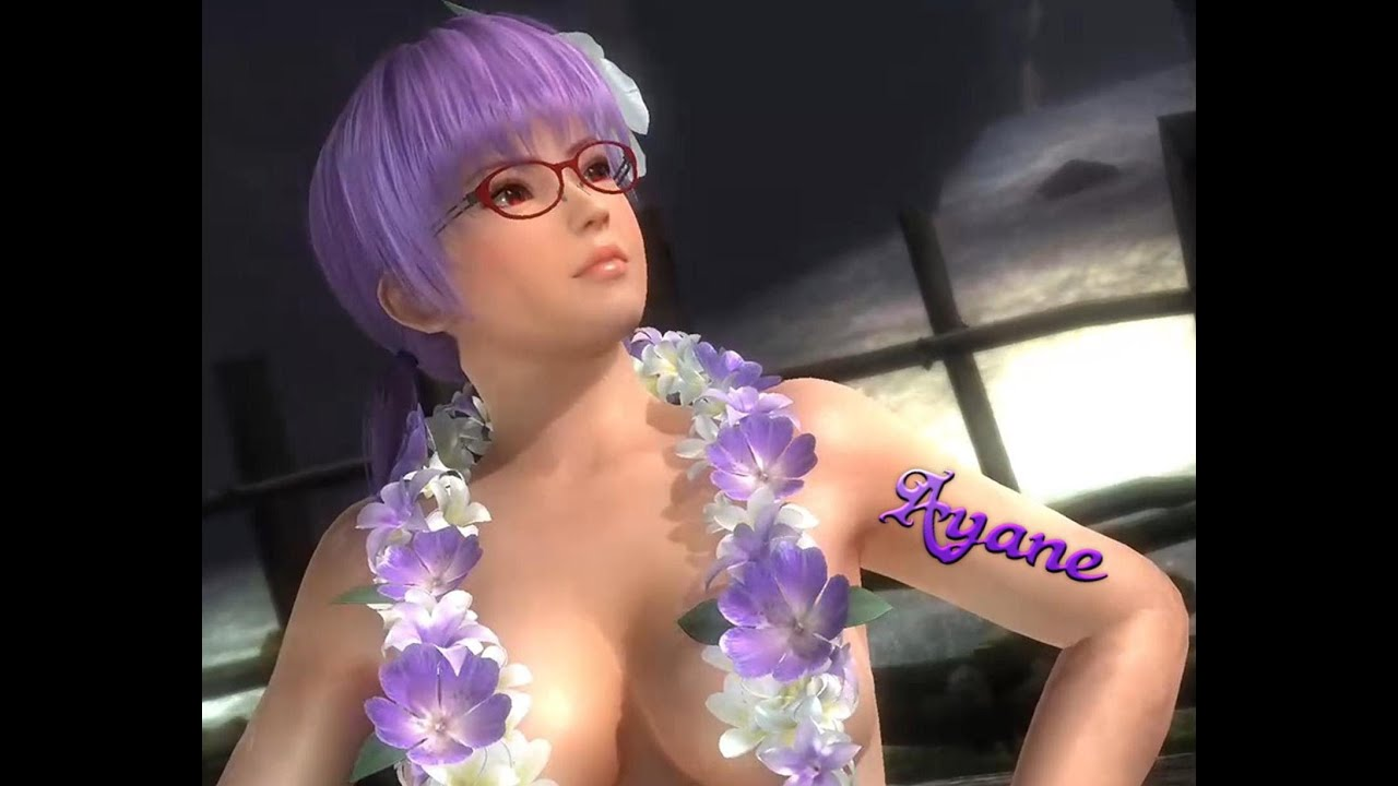xbox one: doa 5 last round - ayane aloha costume - youtube