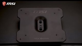 MSI® HOW-TO install a VESA mount to an MSI Monitor