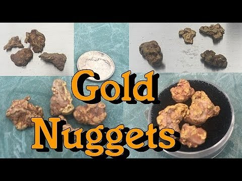 ARIZONA GOLD NUGGETS !!! From Our Claim. ask Jeff Williams