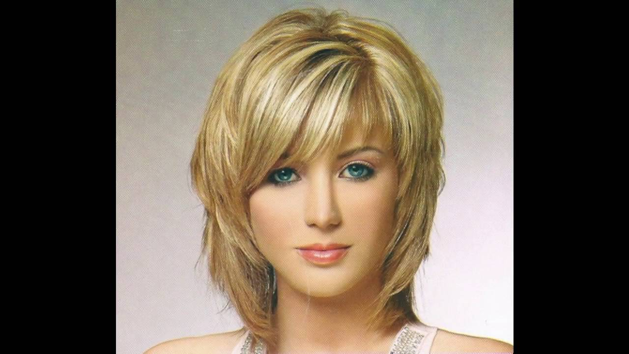 short hairstyle for diamond face - youtube