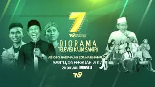 PROMO HARLAH 7 TV9 ABIOSO Ft QASIMA (DIORAMA TELEVISI KAUM SANTRI)