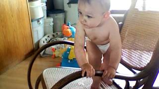 Baby Rocking Chair Surfing