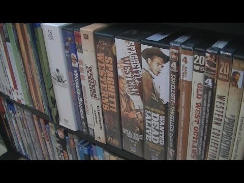 Western/Kung-Fu DVD and Blu-Ray Collection