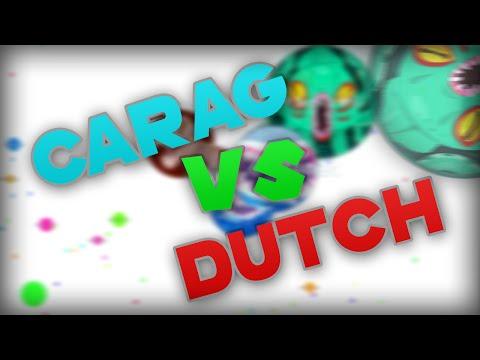 Agario // 1v1 VS DutchLoyalty + Instant Merge