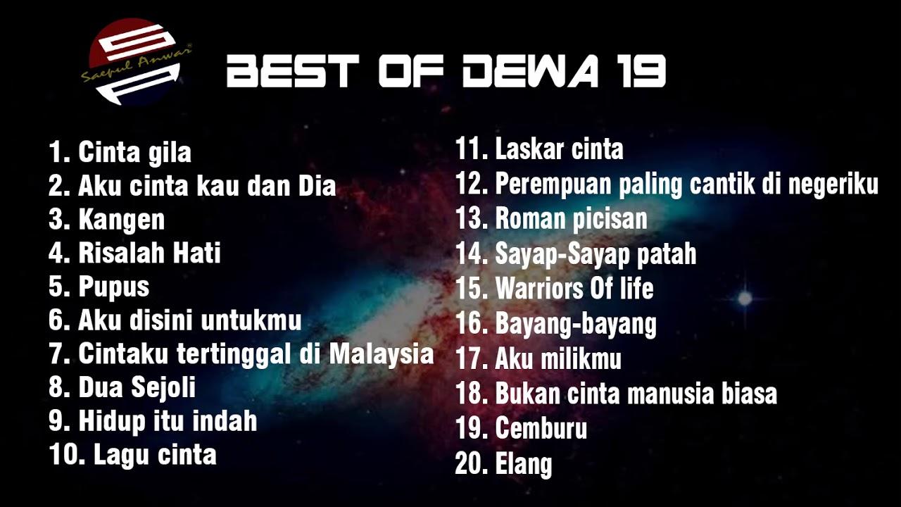 Lagu terbaik Dewa 19 Full album - YouTube