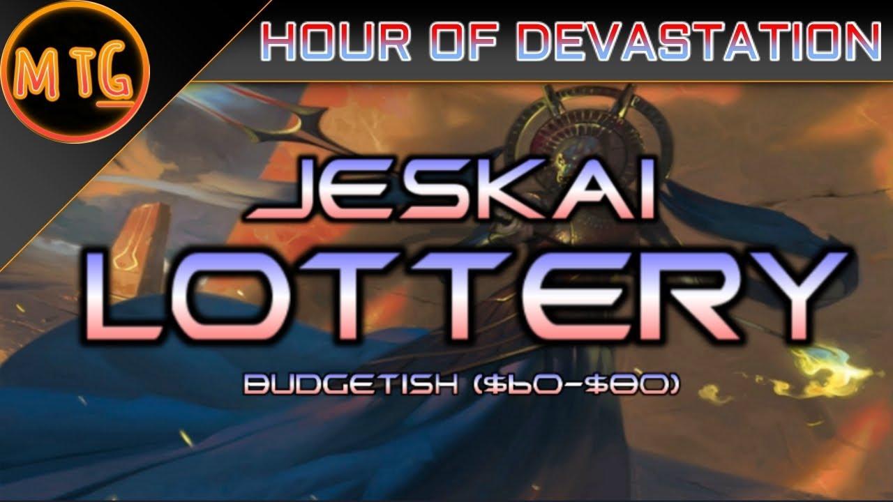 Jeskai Hazoret's Lottery, the jankiest deck ever  Hour of Devastation  Standard