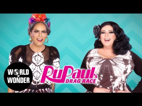 FASHION PHOTO RUVIEW: Season 9 RuPaul's Drag Race Premiere Looks With Raja & Delta Work