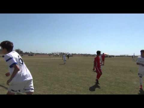 National Cup 2016.  SD Surf Academy (Aguilar) vs LA United FA BU16 Pre-Academy