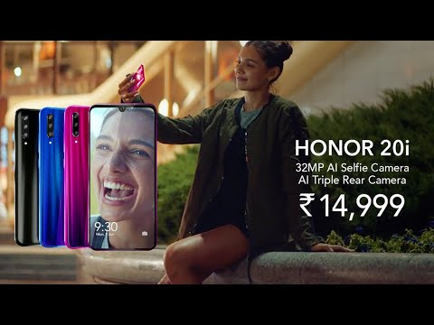 #honor20i---see-yourself-for-the-first-time-#honor20series