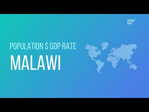MALAWI Population $ GDP Rate 💰 GDP To Debt Ratio ▪ MALAWI GDP Stats