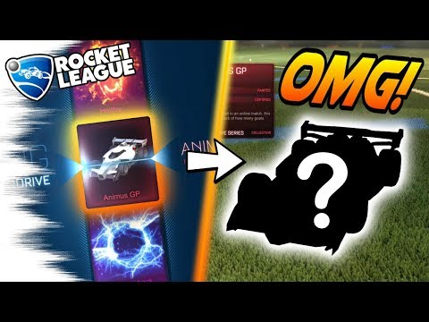 ULTRA RARE ANIMUS! - Rocket League Overdrive Crate Opening! (Painted, Search for Hellfire/Fireworks)