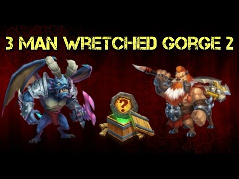 Castle Clash 3 Man Wretched Gorge 2