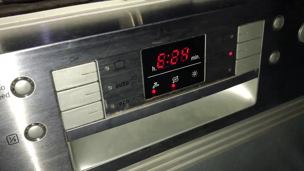 Bosch dishwasher E24 FAULT  HELP NEEDED