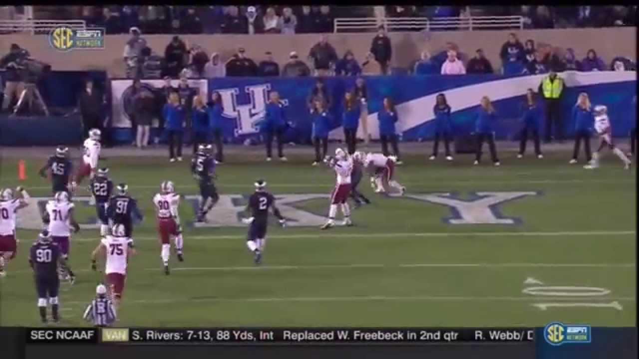 2014 USC vs Kentucky - Shon Carson 25 Yd Touchdown Run ...