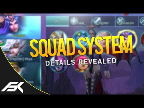 Mobile Legends: NEW SQUAD SYSTEM