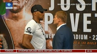 Anthony Joshua Calls Out Wilder Again |Sports This Morning|