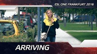 Arriving @ ESL One Frankfurt 2016 (ENG SUBS)