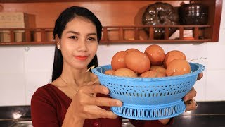 Yummy cooking egg with soy sauce recipe  Natural life tv cooking