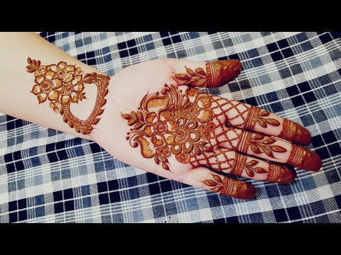 Khaleeji Henna Design 41 Heena Vahid Youtube