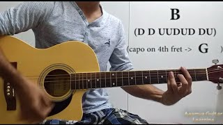Tera Ban Jaunga Kabir Singh Guitar Chords Lesson Cover Strumming Pattern Progressions