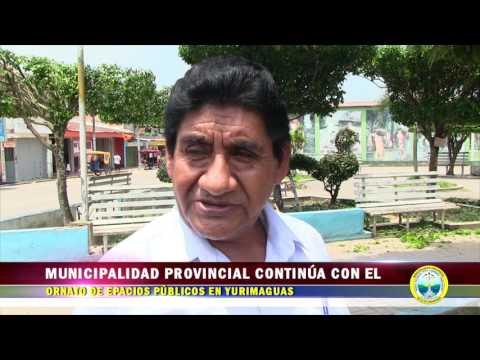 MUNICIPALIDAD PROVINCIAL CONTINÚA CON EL ORNATO DE ESPACIOS PÚBLICOS EN YURIMAGUAS