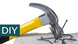 СЕКРЕТЫ обычного гвоздя. Как забить гвоздь в КИРПИЧ?  Хитрые советы старых мастеров  #Стройхак