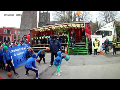 St Patrick's Day 2018 parade Athlone, Republic of Ireland