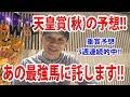 【わさお】天皇賞・秋の予想!!【競馬予想】