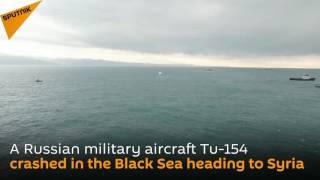 بالفيديو..العثور على جسم الطائرة الروسية المنكوبة فى البحر الأسود - اليوم السابع