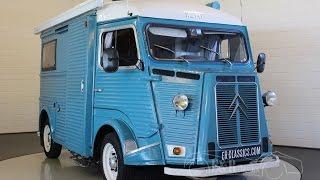 Citroen HY78 Camper 1973 Blue In Good 1 Year Ago