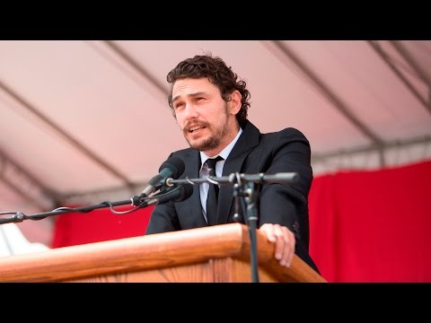 James Franco at Cornell Senior Convocation | Commencement 2016
