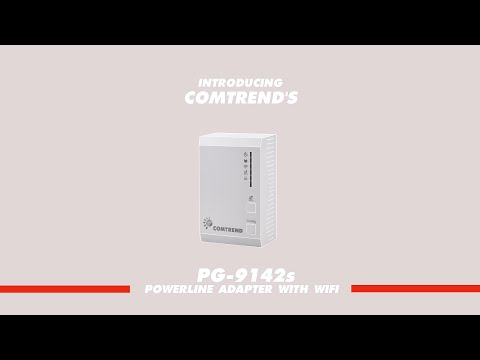 PG-9142s Powerline Adapter Wireless Video