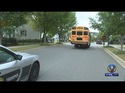 Operation Stop Arm: Annual NC School Bus Safety Action Begins