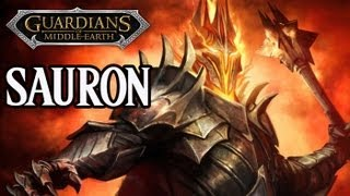 Guardians of Middle-Earth - Sauron Gameplay Commentary w/ TheTurtleOfDoom (3-Lane)