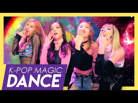 BLACKPINK x BTS - BOOMBAYAH x DNA // K-pop Magic Dance