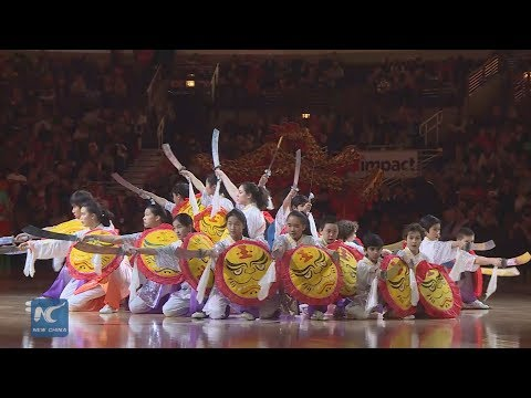 Kung Fu show highlights Chicago Bulls'home court to honor Chinese Lunar New Year