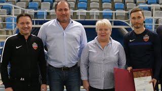 Харитонова наградили благодарственным письмом Заксобрания Красноярского края