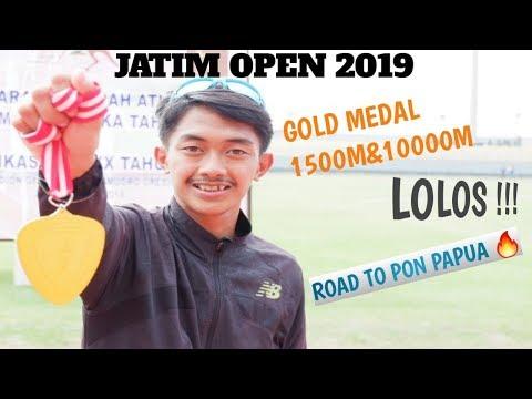 RACE JATIM OPEN ! KUALIFIKASI PON 2020  GOLD MEDAL 1500M & 10000M, ROAD TO PON PAPUA 2020