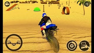 Offroad Moto Bike Stunt Game ( by Game Bunkers) - Android Gameplay HD #3