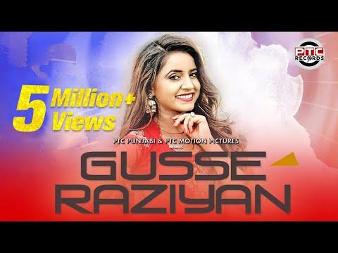 Gusse Raziyan | Neha Sharma | Full Video | Latest Punjabi Song 2017 | PTC Motion Pictures