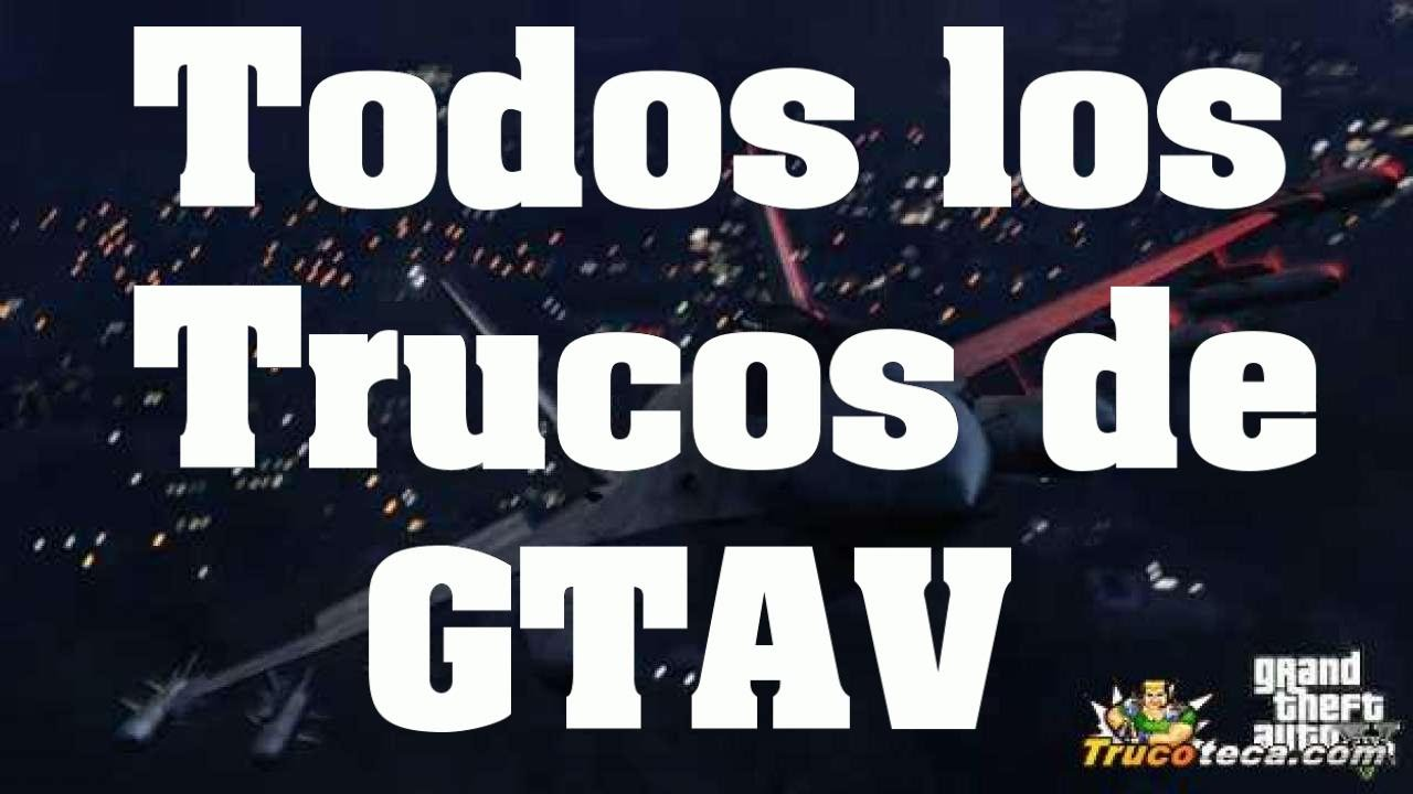 trucos grand theft auto 5 ps4