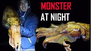Winter GIANT Cuttlefish 10kg Catch PART 1