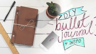 MAKE YOUR OWN BULLET JOURNAL & INSPO PAGES
