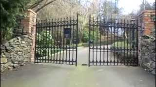 Golden Gates Stirling Driveway Gates