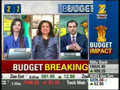 Budget 2017 Impact by Navneet Munot- SBI Mutual Fund on Zee Business Budget 1st Feb 2017