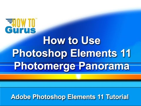 how to make a panorama in photoshop elements 9