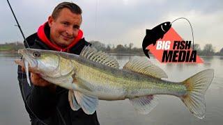 Angeln auf Zander und Barsch im Herbst und Winter - Fische finden im Fluss