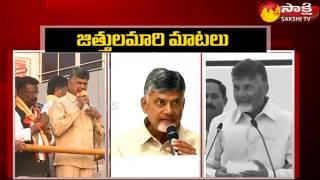Chandrababu Cunning Politics || బాబు జిత్తులమారి మాటలు