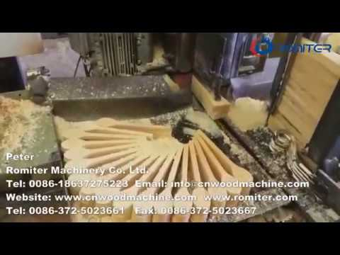 Round Bar Wooden Spoon Production Line-Romiter Machinery